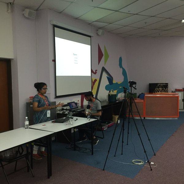 My first talk